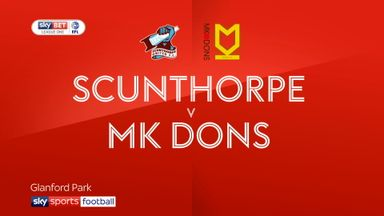 Scunthorpe 2-2 MK Dons