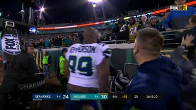Seahawks player clashes with fans