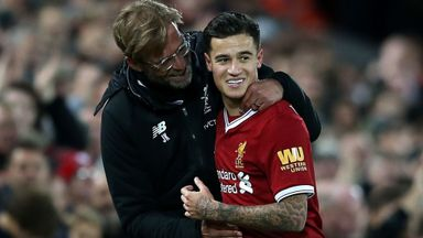 Klopp not thinking of Coutinho future