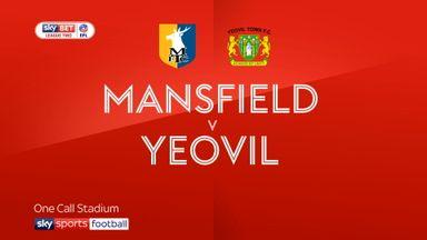 Mansfield 0-0 Yeovil