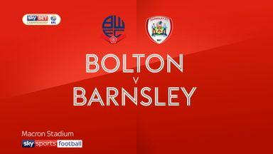 Bolton 3-1 Barnsley