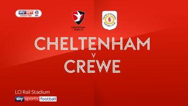 Cheltenham 1-0 Crewe