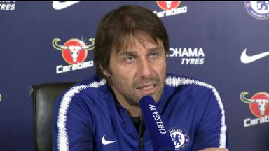 Conte: Top four the priority