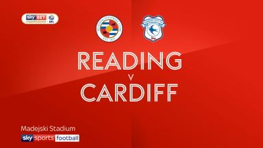 Reading 2-2 Cardiff