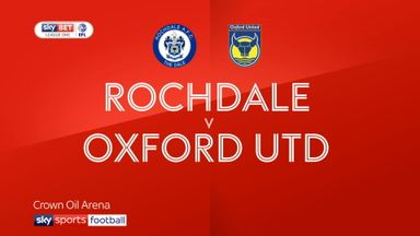 Rochdale 0-0 Oxford Utd
