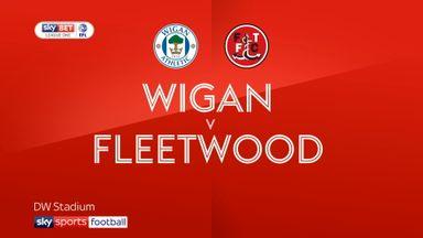 Wigan 2-0 Fleetwood