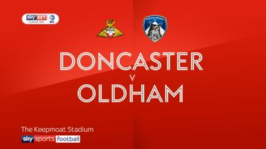 Doncaster 1-1 Oldham