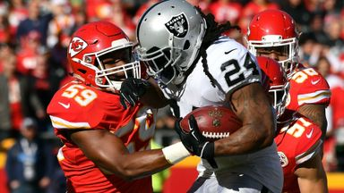 Raiders 15-26 Chiefs