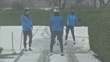 Spurs' snowball antics