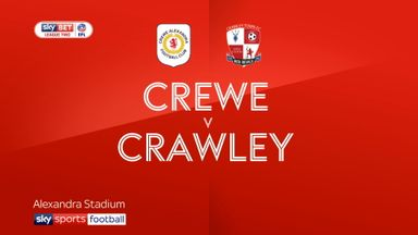 Crewe 3-0 Crawley