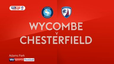 Wycombe 1-0 Chesterfield