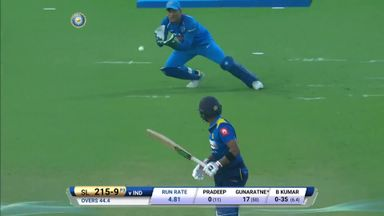 India v Sri Lanka: 3rd ODI highlights
