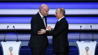 Russia happy with hitch-free draw