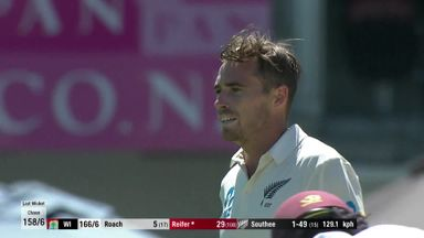 NZ v Windies: T2 D4 highlights