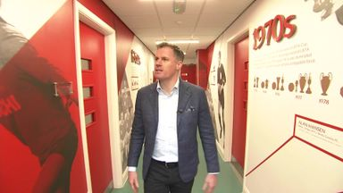 Carragher gives Melwood tour