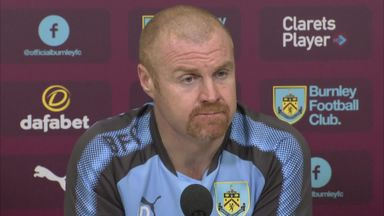Dyche surprised by Burnley form