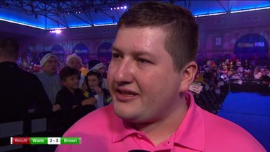 Brown: James Wade is my hero