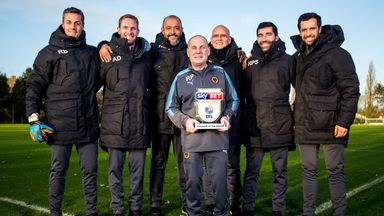 Nuno wins Manager of the Month