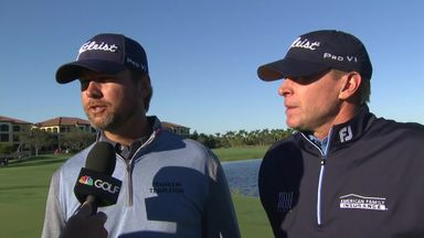 Stricker and O'Hair win QBE Shootout
