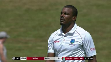 NZ v Windies: T2 D1 highlights