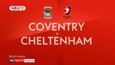 Coventry 2-1 Cheltenham