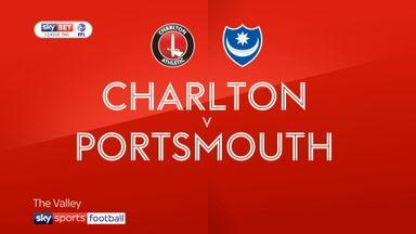 Charlton 0-1 Portsmouth