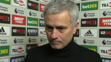 Mourinho happy with result