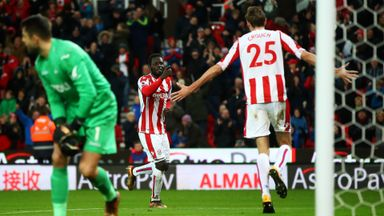 Stoke 2-1 Swansea