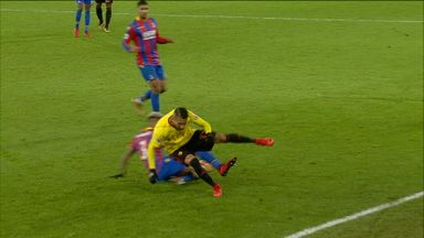 Lucky escape for van Aanholt?