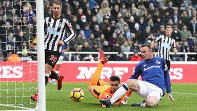 Newcastle 0-1 Everton