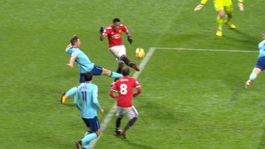Shocking miss for Martial
