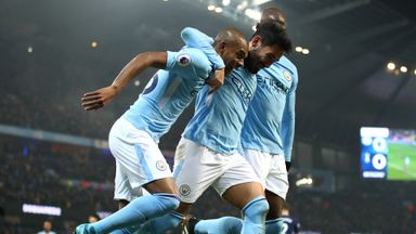 Man City 4-1 Tottenham