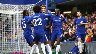 Chelsea 5-0 Stoke