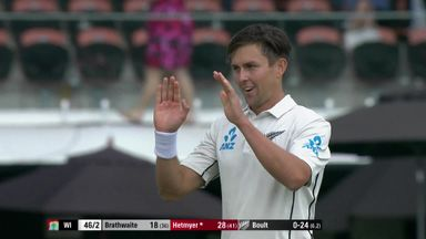 NZ v Windies: T2 D2 highlights