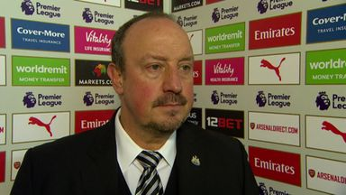Benitez: We need a bit of luck