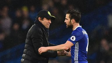 Conte: Cesc changed my mind