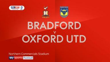 Bradford 3-2 Oxford