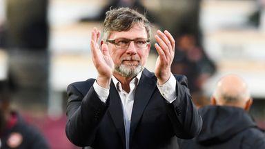 Levein: Hard work paid off against Celtic