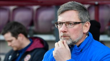 Hearts' boss Craig Levein plans to end Celtic's run