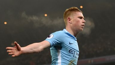 Pep: De Bruyne is an inspiration