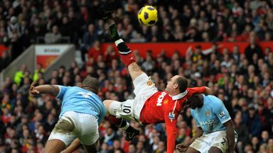 How to overhead kick like Wayne Rooney | SLH