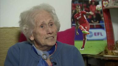 Bristol City's 100-yr-old fan