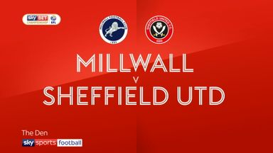 Millwall 3-1 Sheffield Utd
