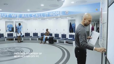 Behind the scenes at Man City