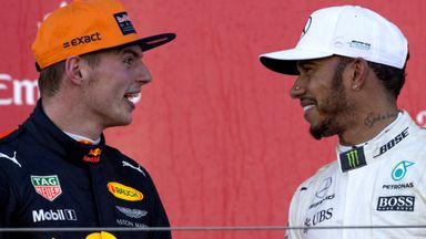Hamilton: Verstappen a 2018 contender