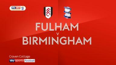 Fulham 1-0 Birmingham
