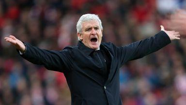 Hughes coy over January transfers
