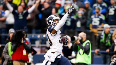 Gurley hits four against Seahawks