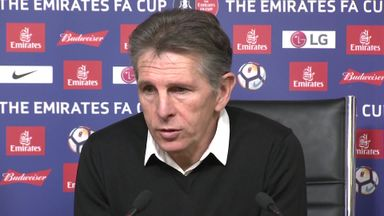 Puel: Mahrez is happy at Leicester