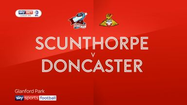 Scunthrope 1 - 1 Doncaster